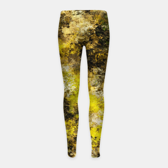 Miniatur Finding yellow rocks Girl's leggings, Live Heroes