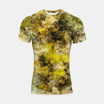 Finding yellow rocks Shortsleeve rashguard thumbnail image