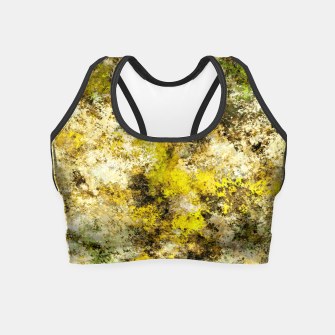 Miniatur Finding yellow rocks Crop Top, Live Heroes