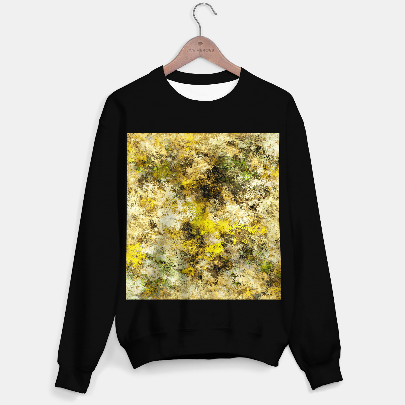 Image of Finding yellow rocks Sweater regular - Live Heroes