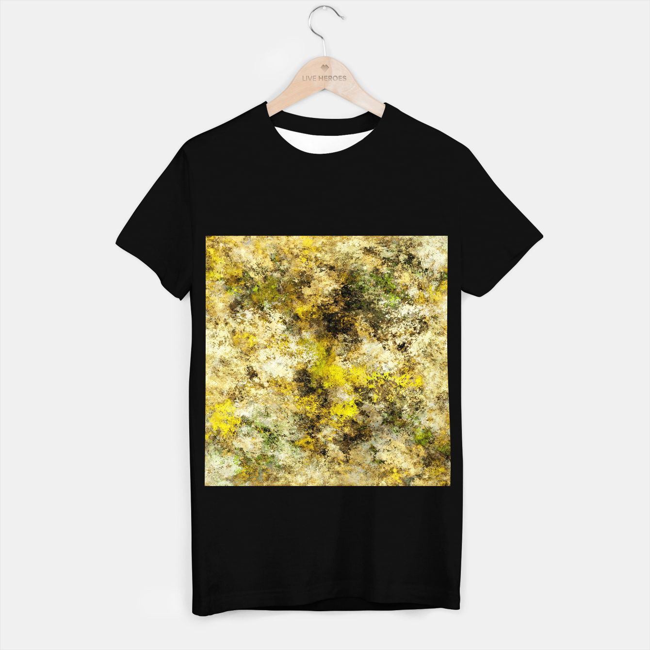 Image of Finding yellow rocks T-shirt regular - Live Heroes