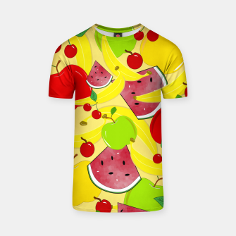 Thumbnail image of Fruit Mixture T-shirt, Live Heroes