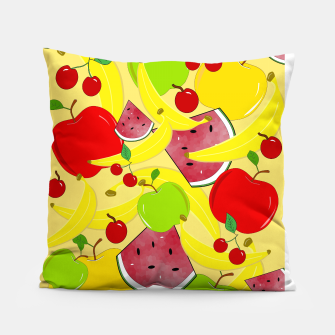 Miniatur Fruit Mixture Pillow, Live Heroes