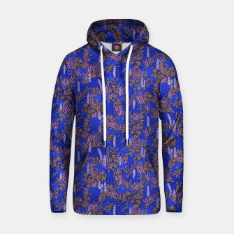 Thumbnail image of Electric blue tropical lush Hoodie, Live Heroes