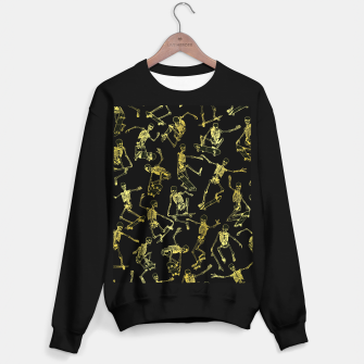 Thumbnail image of Grim Ripper Skater GOLD Sweater regular, Live Heroes