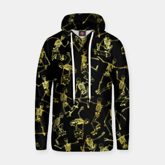 Thumbnail image of Grim Ripper Skater GOLD Hoodie, Live Heroes