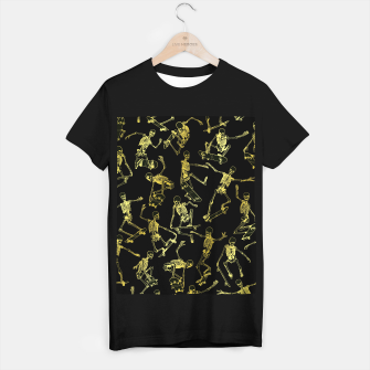 Thumbnail image of Grim Ripper Skater GOLD T-shirt regular, Live Heroes