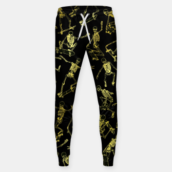 Thumbnail image of Grim Ripper Skater GOLD Sweatpants, Live Heroes