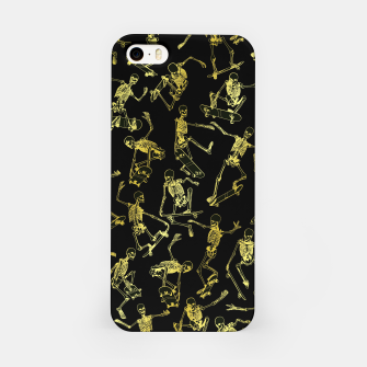 Thumbnail image of Grim Ripper Skater GOLD iPhone Case, Live Heroes