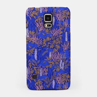 Thumbnail image of Electric blue tropical lush Samsung Case, Live Heroes