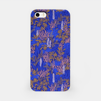 Miniatur Electric blue tropical lush iPhone Case, Live Heroes