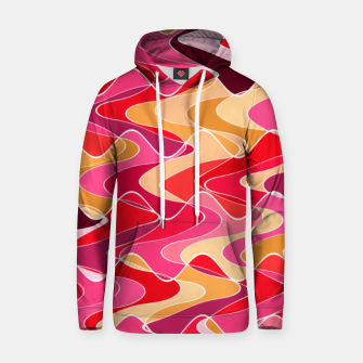 Thumbnail image of Energy waves, vibrant colors, joyful fuchsia print Hoodie, Live Heroes