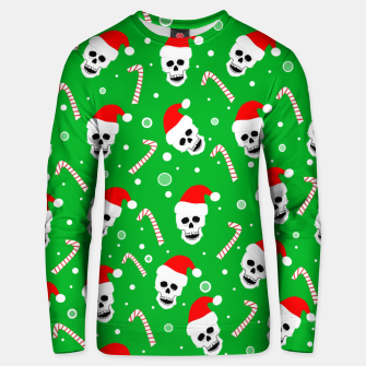 Thumbnail image of Skulls And Candy Canes Unisex sweater, Live Heroes