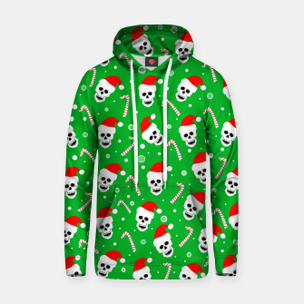 Miniatur Skulls And Candy Canes Hoodie, Live Heroes