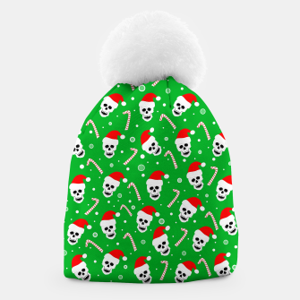 Miniatur Skulls And Candy Canes Beanie, Live Heroes