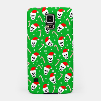 Miniatur Skulls And Candy Canes Samsung Case, Live Heroes