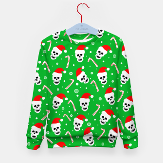 Miniatur Skulls And Candy Canes Kid's sweater, Live Heroes