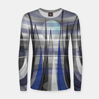 Thumbnail image of Outer Space Women sweater, Live Heroes