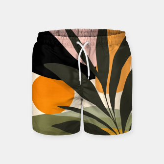 Thumbnail image of Abstract botanical sunset , Live Heroes