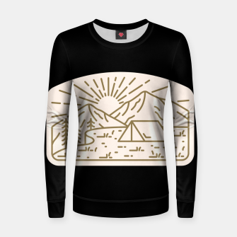 Thumbnail image of Sunrise Camp Women sweater, Live Heroes