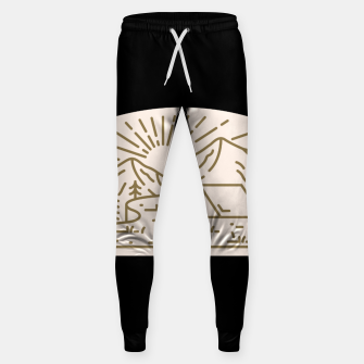 Miniatur Sunrise Camp Sweatpants, Live Heroes