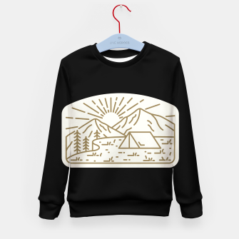 Miniatur Sunrise Camp Kid's sweater, Live Heroes