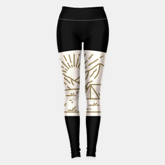 Miniatur Sunrise Camp Leggings, Live Heroes