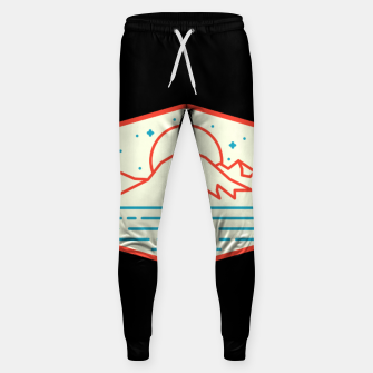 Miniature de image de Mountain and Sea Sweatpants, Live Heroes