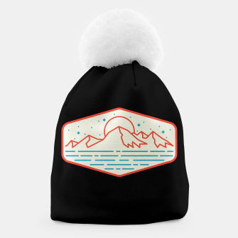 Miniatur Mountain and Sea Beanie, Live Heroes
