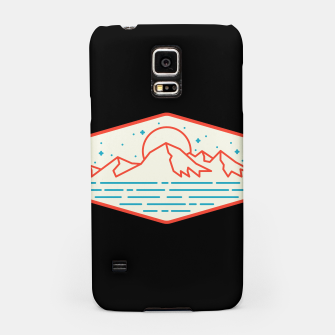 Miniatur Mountain and Sea Samsung Case, Live Heroes