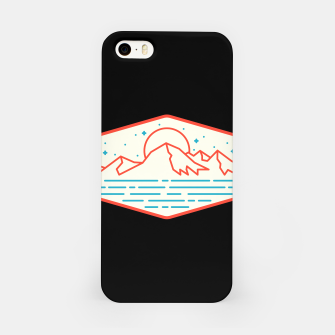 Miniatur Mountain and Sea iPhone Case, Live Heroes