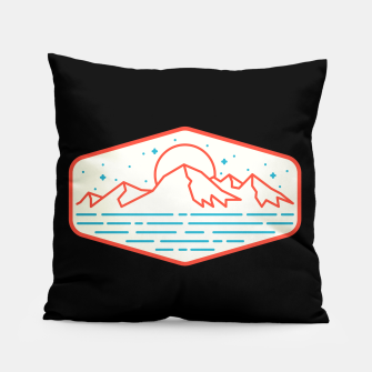 Miniatur Mountain and Sea Pillow, Live Heroes