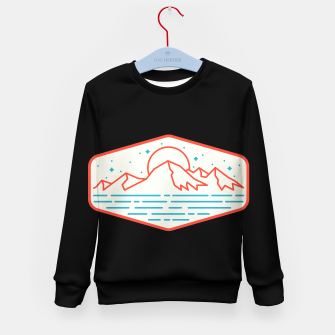 Miniature de image de Mountain and Sea Kid's sweater, Live Heroes