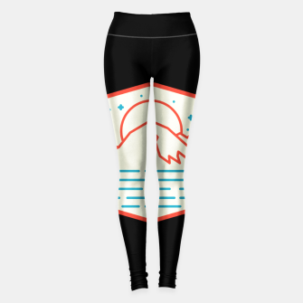 Miniatur Mountain and Sea Leggings, Live Heroes