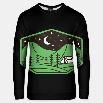 Miniatur Green Camp Unisex sweater, Live Heroes