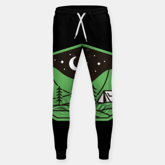 Miniatur Green Camp Sweatpants, Live Heroes