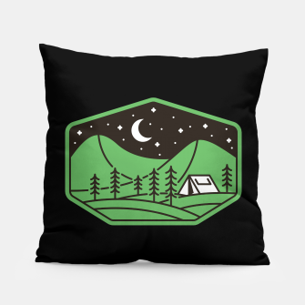 Miniatur Green Camp Pillow, Live Heroes