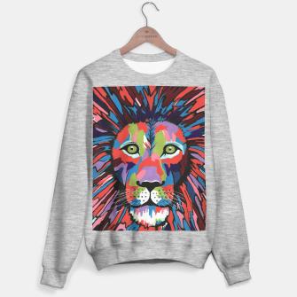 Thumbnail image of Flamboyant Lion Sweater regular, Live Heroes