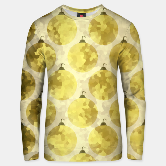 Thumbnail image of Gold Christmas Unisex sweater, Live Heroes