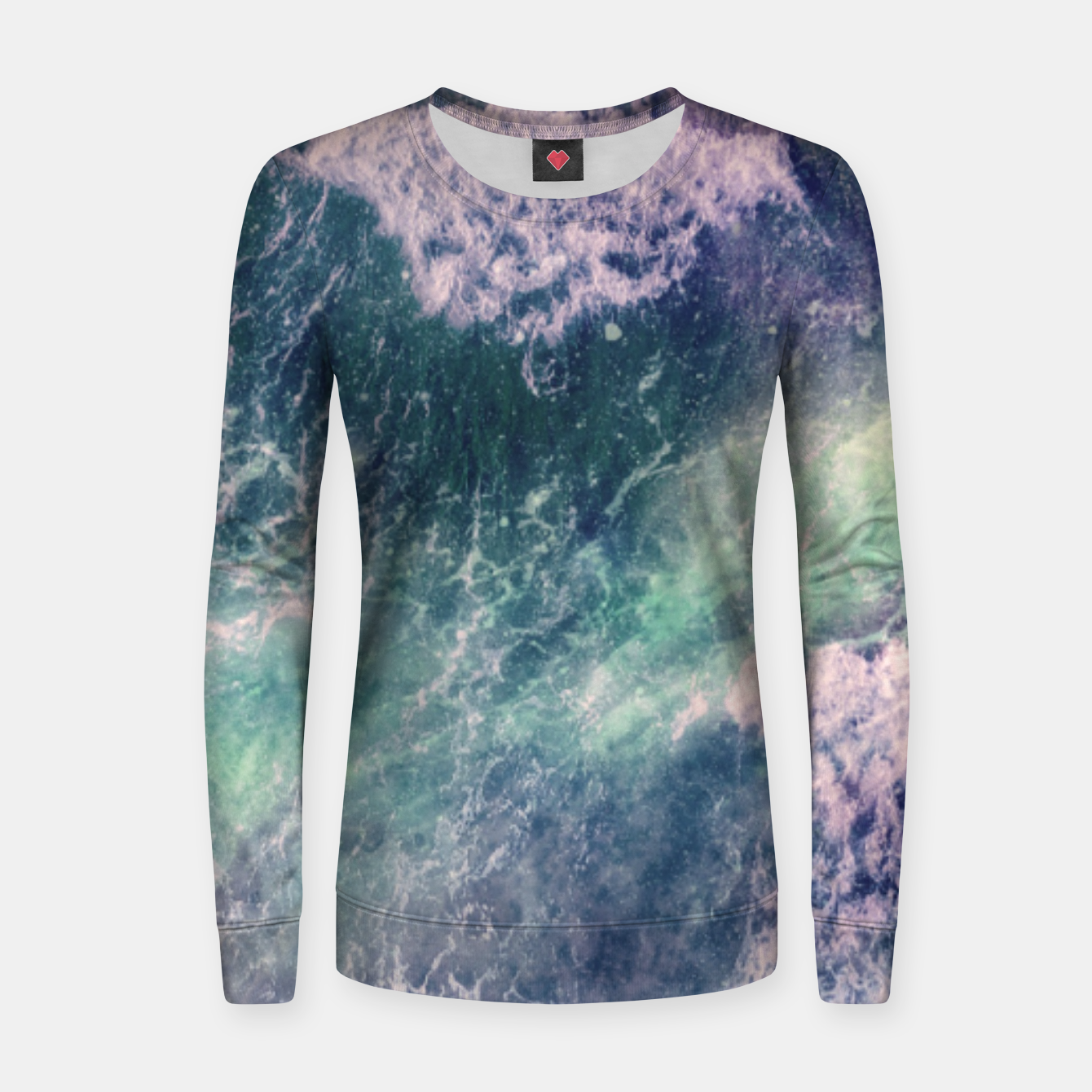 Image of Sound of the Sea Women sweater - Live Heroes