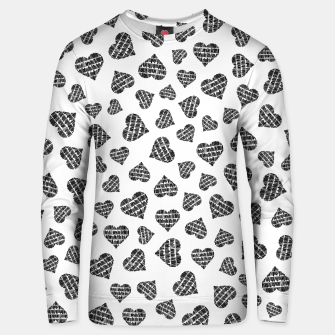 Thumbnail image of Book Lover Heart Pattern Unisex sweater, Live Heroes