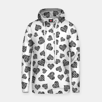 Thumbnail image of Book Lover Heart Pattern Hoodie, Live Heroes