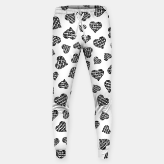 Thumbnail image of Book Lover Heart Pattern Sweatpants, Live Heroes