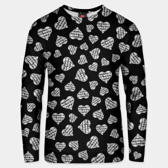 Thumbnail image of Book Lover Heart Pattern II Unisex sweater, Live Heroes