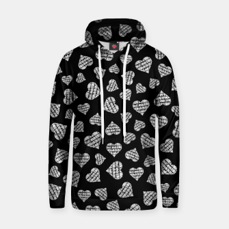Thumbnail image of Book Lover Heart Pattern II Hoodie, Live Heroes