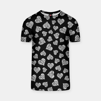 Thumbnail image of Book Lover Heart Pattern II T-shirt, Live Heroes