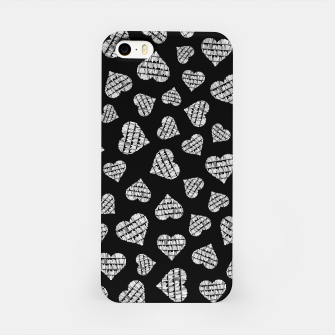 Thumbnail image of Book Lover Heart Pattern II iPhone Case, Live Heroes
