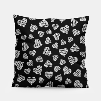 Thumbnail image of Book Lover Heart Pattern II Pillow, Live Heroes