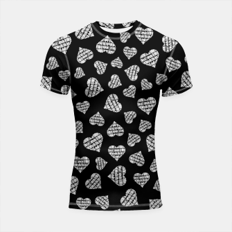 Thumbnail image of Book Lover Heart Pattern II Shortsleeve rashguard, Live Heroes