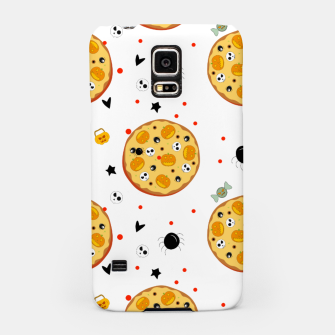 Miniatur Funny Halloween Pizza Food Lover Gifts Scary Ingredients Samsung Case, Live Heroes